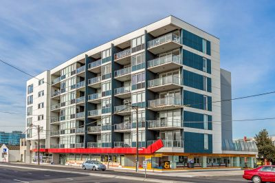 Sky high view from this glorious apartment in an A grade location.