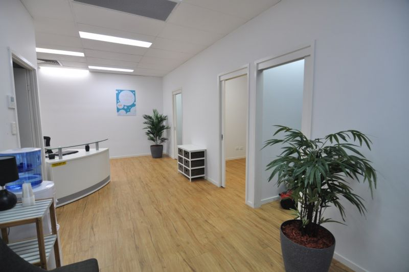 Fully fitted CBD offices with wash basins in each room