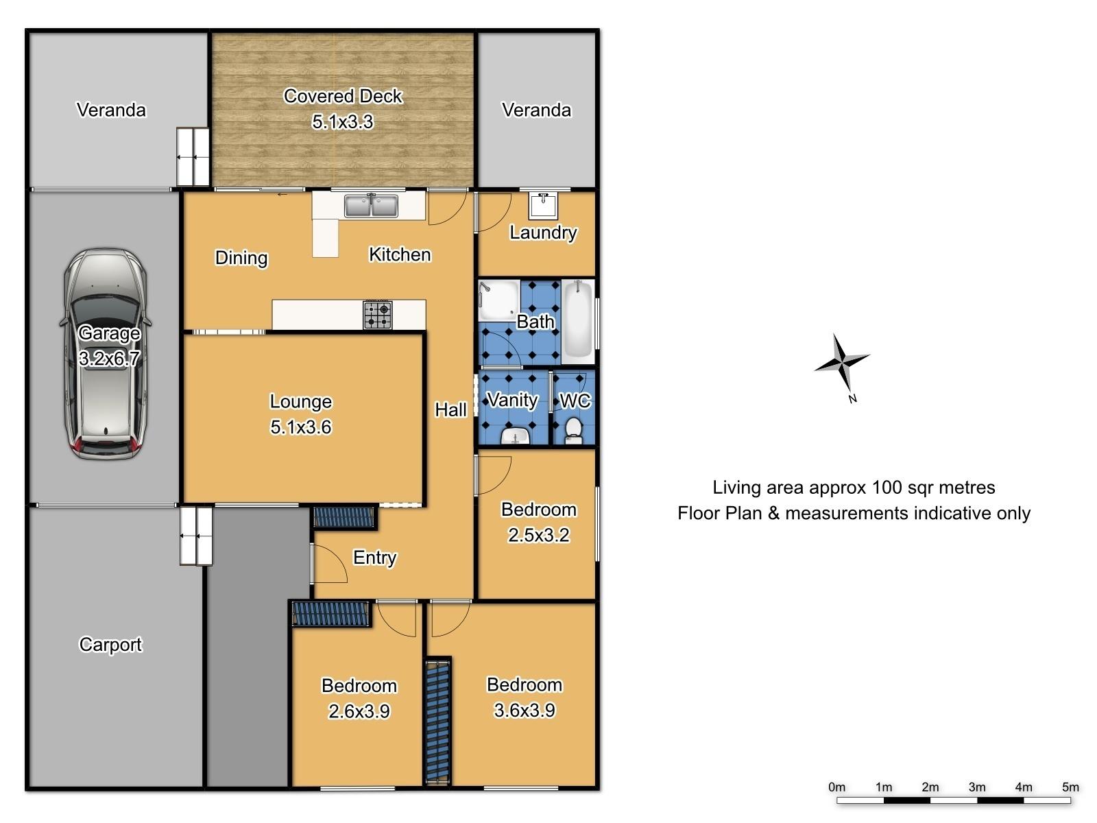 29 Barrett Street - Floor Plan