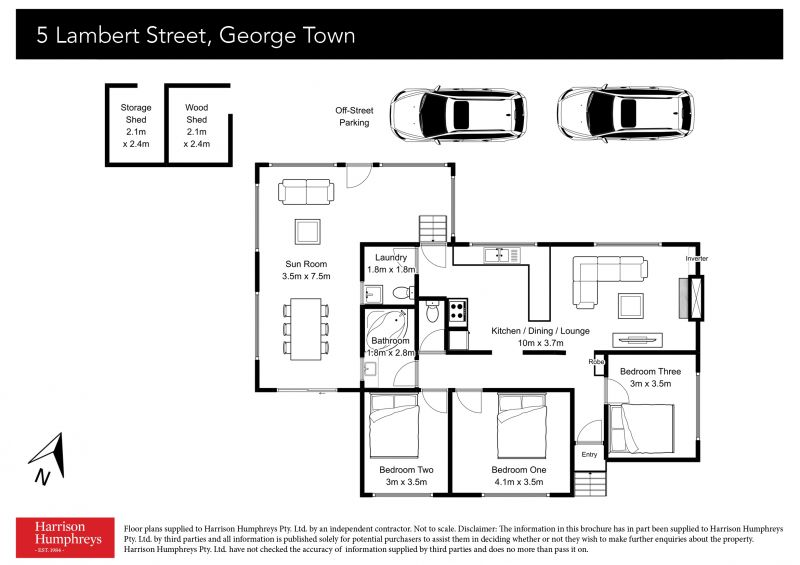 5 Lambert Street Floorplan