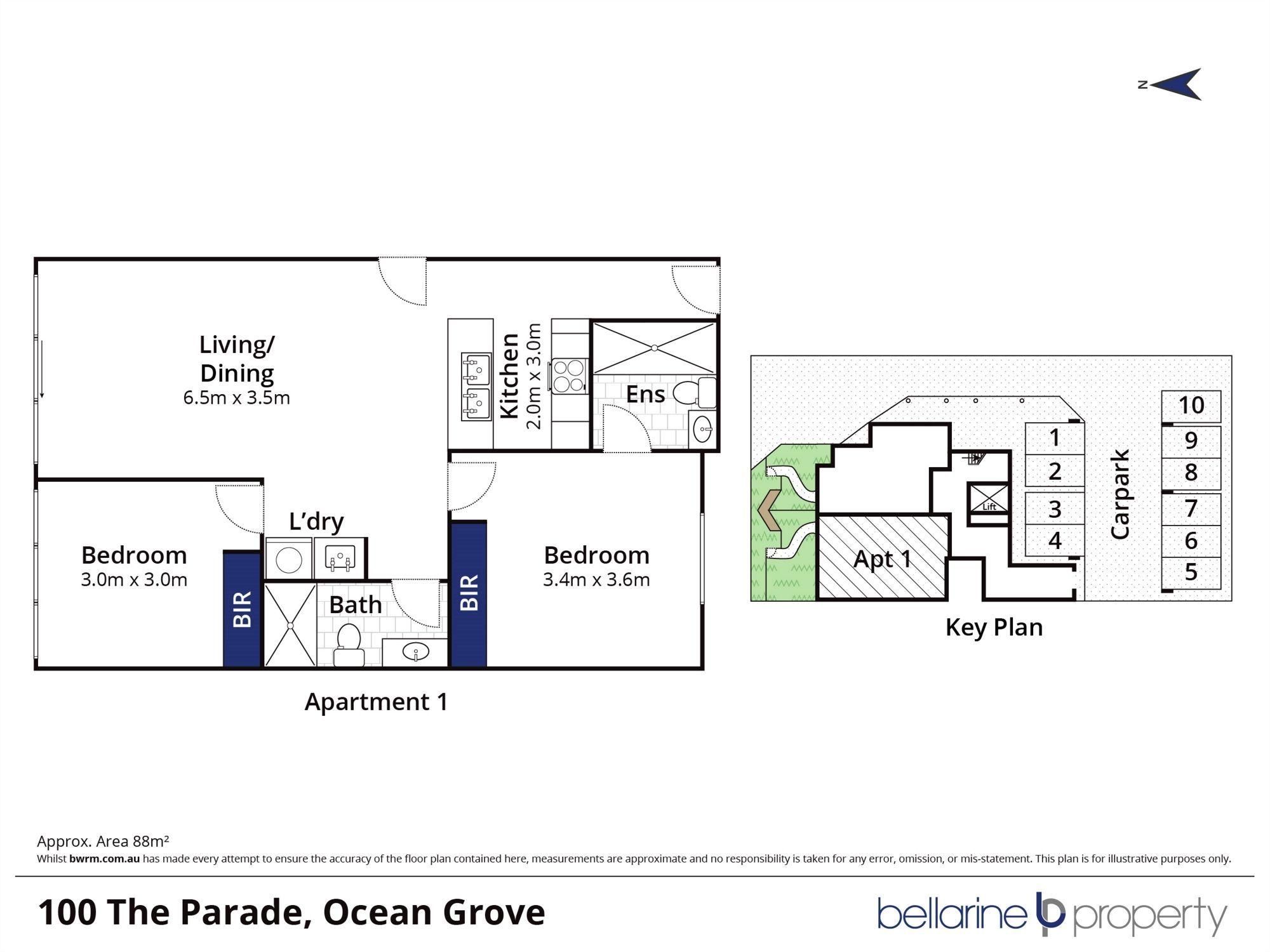 Alkira/100 The Parade, Ocean Grove VIC 3226
