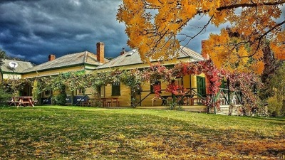 Famous 110 year old Blue Duck Inn in Victoria's High Country