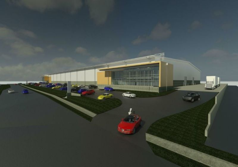 Large Wiri industrial new build