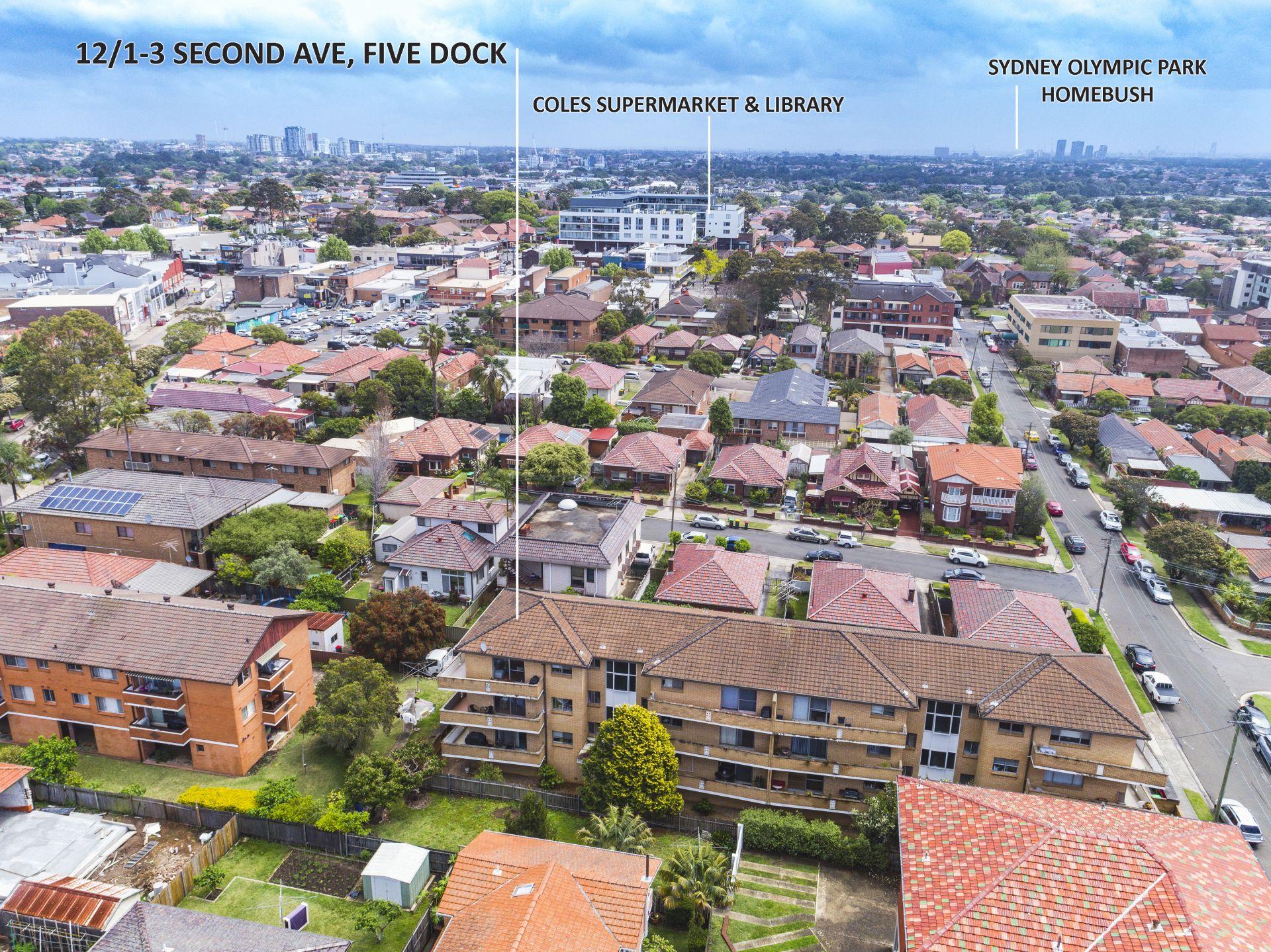 12/1-3 Second Avenue, Five Dock NSW