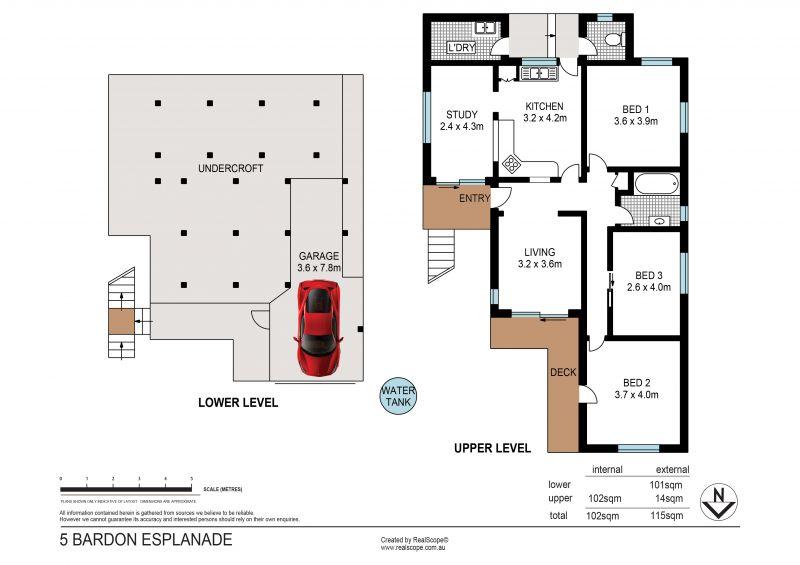 5 Bardon Esplanade Bardon 4065