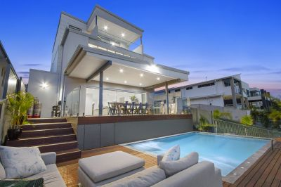 Contemporary Tri Level Waterfront Masterpiece