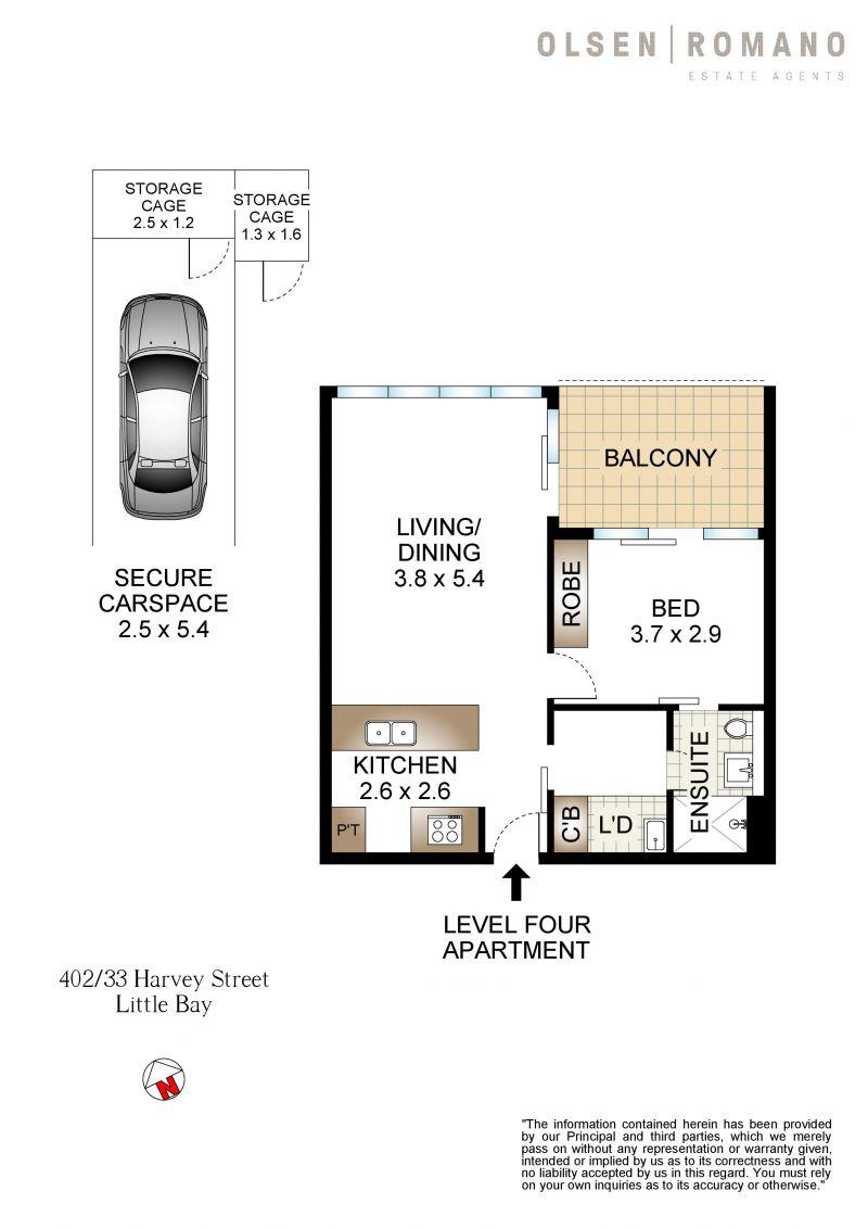 402/33 Harvey Street Little Bay 2036