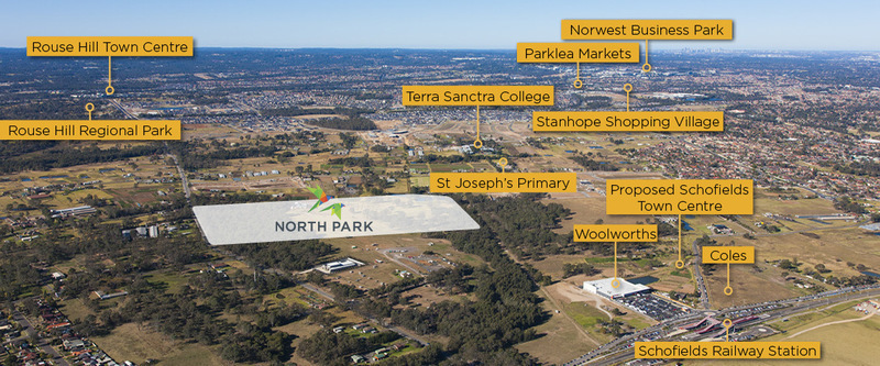 Schofields (Lot 4) Proposed Road | The Green at North Park