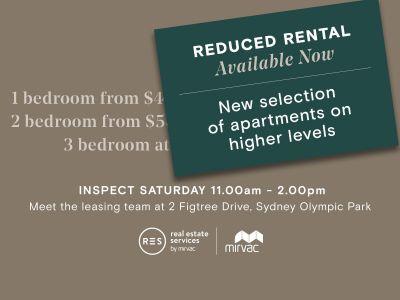 Premium Brand New  Bedroom + Media Apartment in Scarlet