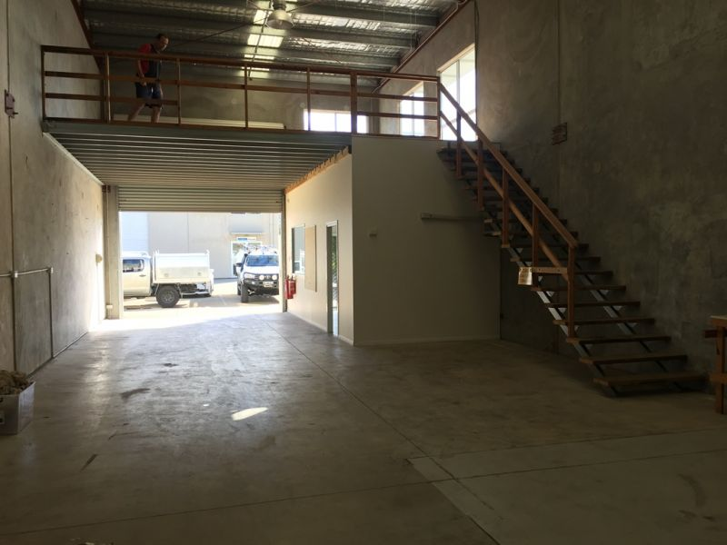 Front Industrial Unit with A/C Office Area