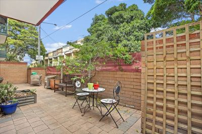 Garden apartment of space, security and convenience