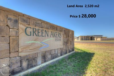Green Akers Estate Miles  $28,000 a Block