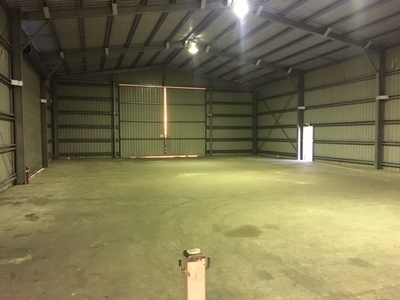450m2 SHED ON 1,947M2