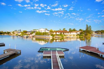 Spacious waterfront home in sought-after location