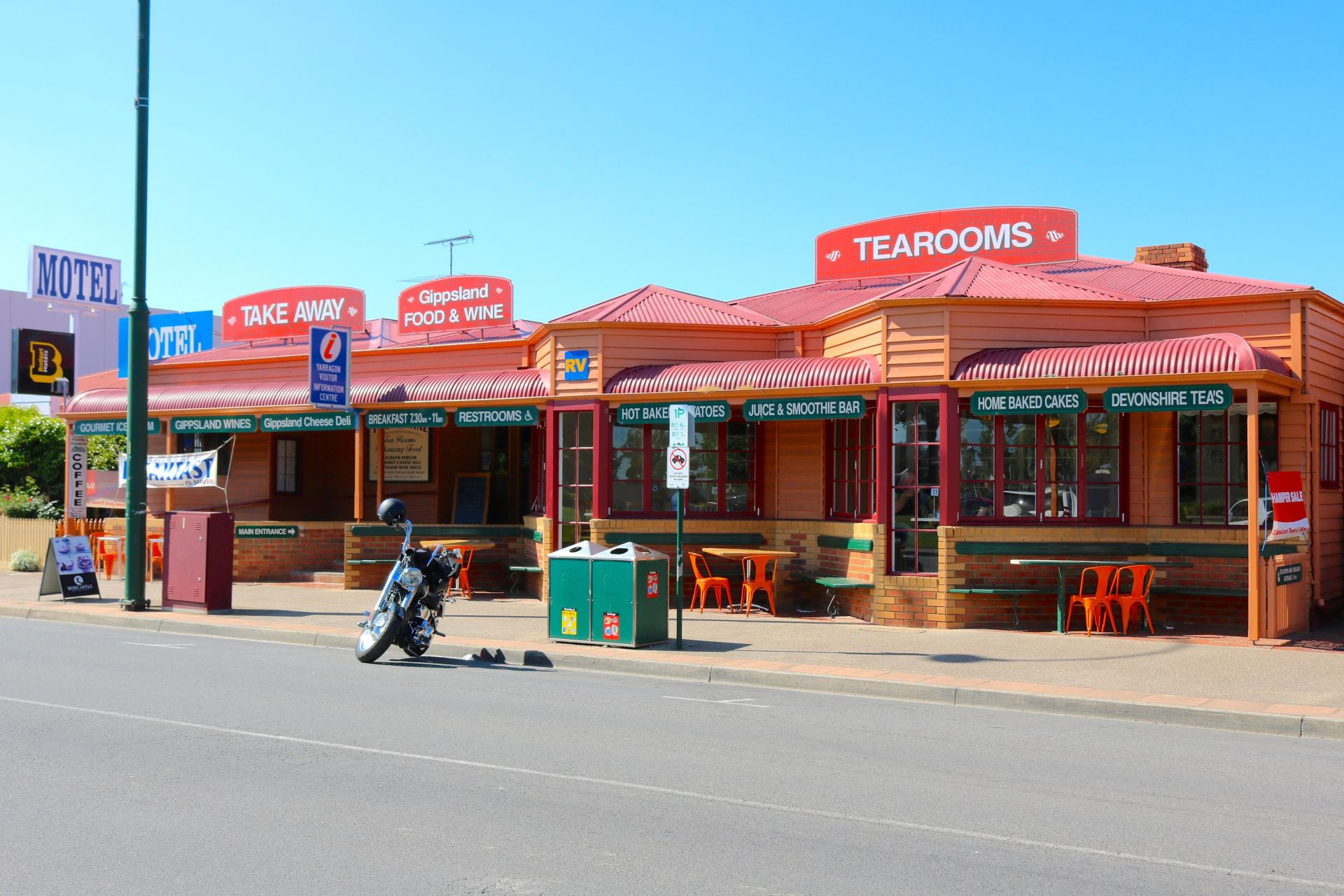 Very Profitable Cafe, Licenced Restaurant, Deli And Ice Cream Parlour Gippsland