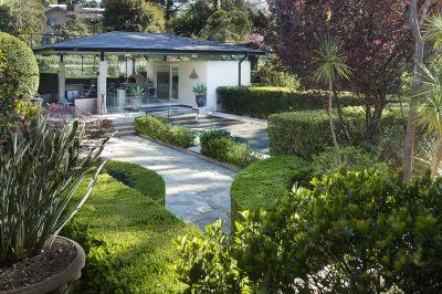 North facing resort-like estate on 2 titles