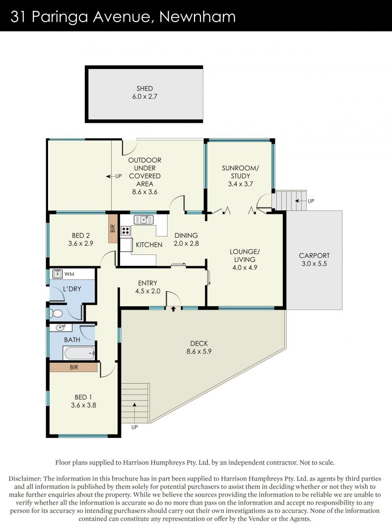 31 Paringa Avenue Floorplan