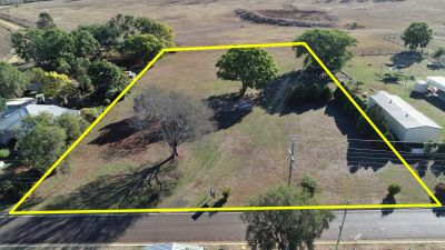 1.5 Acre Block, Ready To Build On, 60m frontage with Town Water/Bore/Power