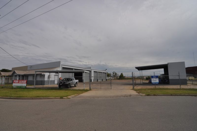 Industrial Facility with Ample Concrete/Gravel Hardstand