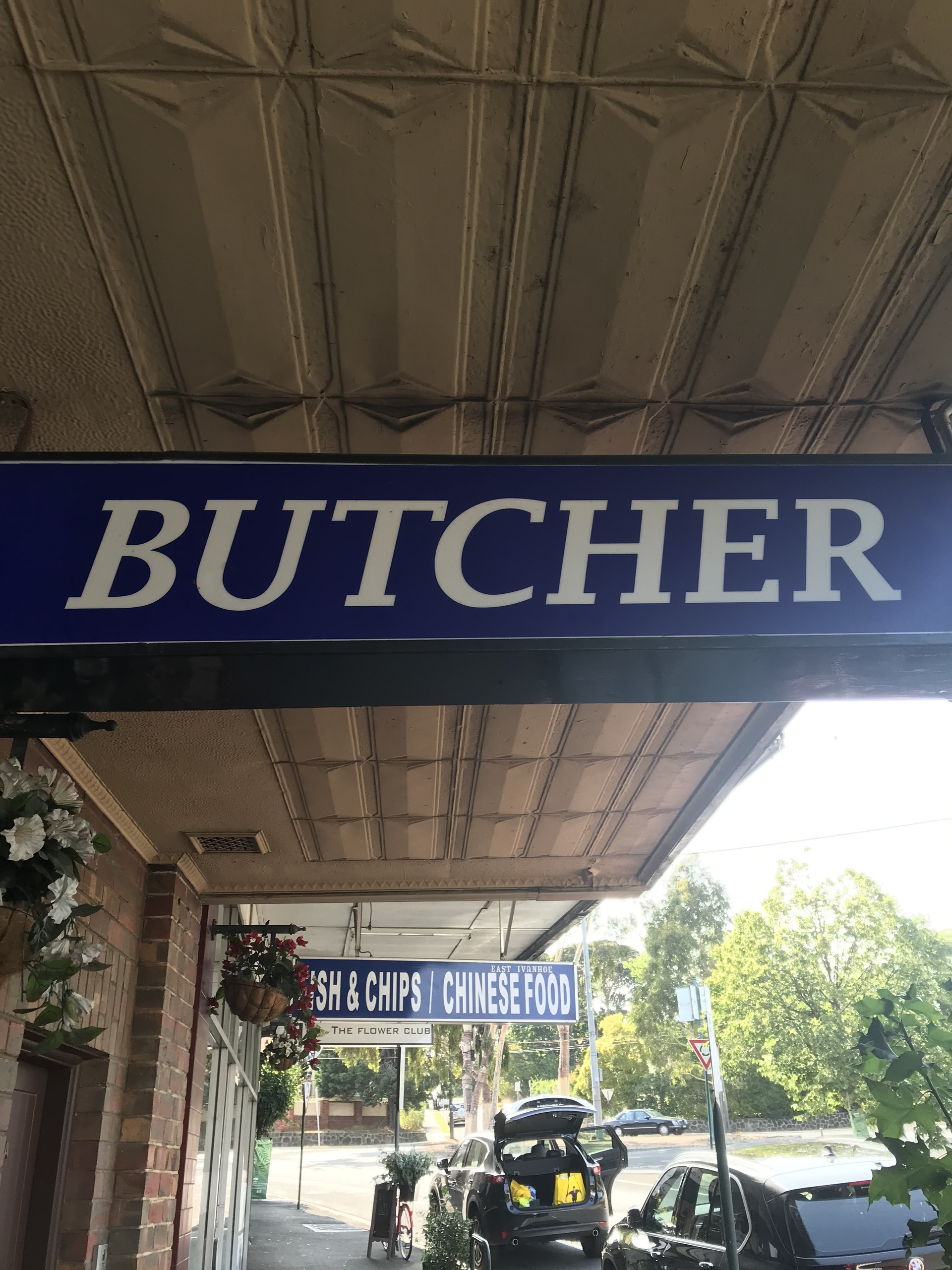Butcher shop in East Ivanhoe - 40 years old !