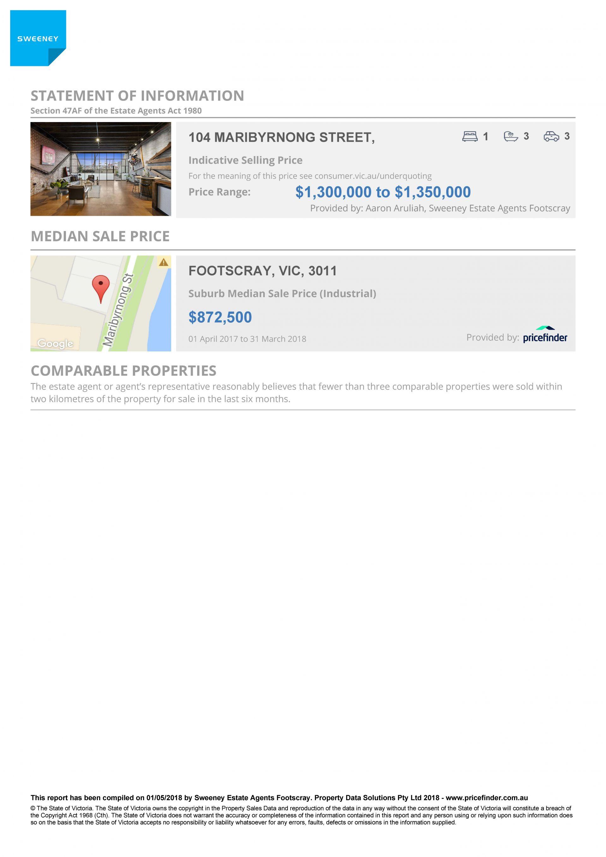 Real Estate For Sale - 104 Maribyrnong Street - Footscray , VIC