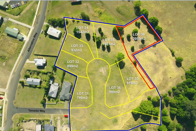 NEW LAND RELEASE - Lot 38