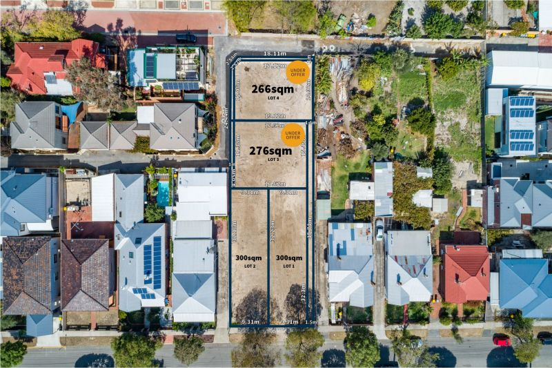 CHEAPEST LAND IN NORTH PERTH!