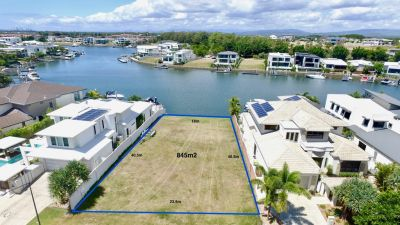 Great Value Waterfront Block Ready to Build