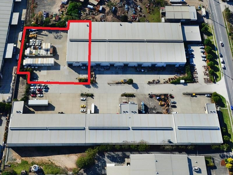 Prime Richlands warehouse with secure concrete yard