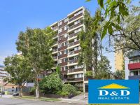 Studio Apartment In Parramatta CBD. Near New Paint, Carpet & Blinds. Across Road From Westfield Shopping & Station. Secure Car Space