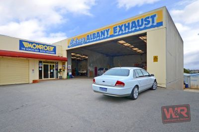 150 Albany Highway (Colray Exhaust - Business Only), Albany