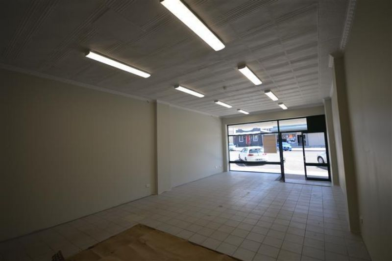 Retail space with main street frontage
