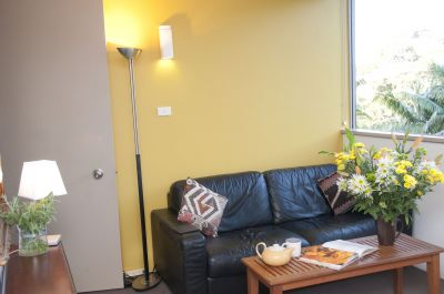 Fully furnished One Bedroom One bathroom apartment with one under cover park.