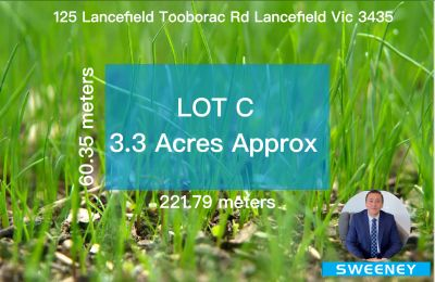 3.3 Acres Approx Lot 39/125 LANCEFIELD-TOOBORAC RD, LANCEFIELD