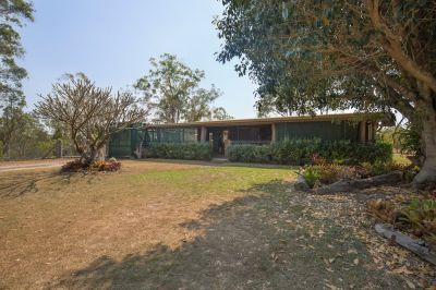 PRIVATE 68 ACRE PROPERTY WITH SOLID HOME & GOOD SHEDS.....