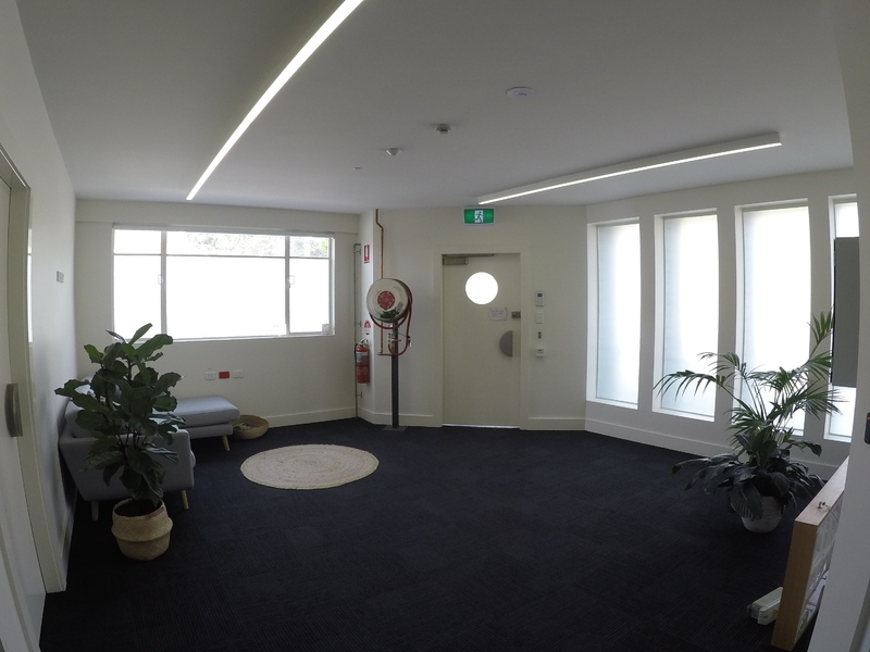 High Tech Industrial Style office space for lease 330 – 665 m2.