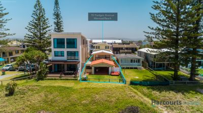 Substantial Beachfront Home  So Close to Land Value!!