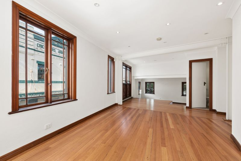 Whole floor commercial space with great natural light and sunny balcony