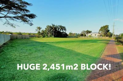HUGE 2,451m2 BLOCK READY TO BUILD ON!!
