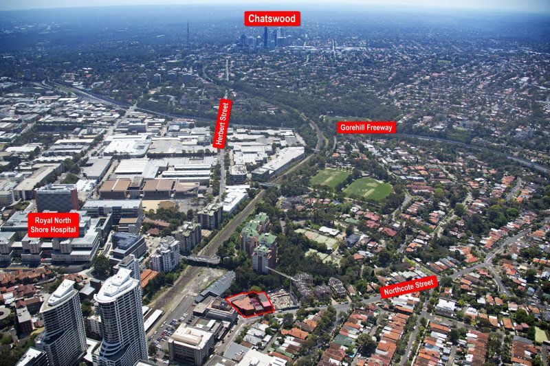 For Sale - St Leonards Masterplan Approved Site - $18,500,000