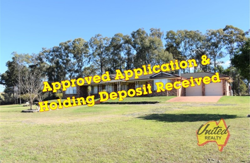 APPLICATION APPROVED! HOLDING DEPOSIT RECEIVED1