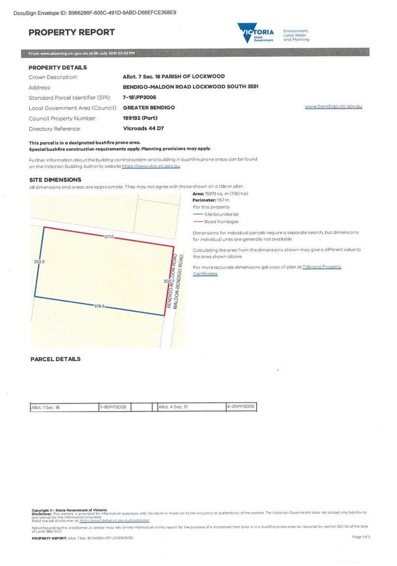 For Sale By Owner: 7 Bendigo-Maldon Rd, Lockwood South, VIC 3551