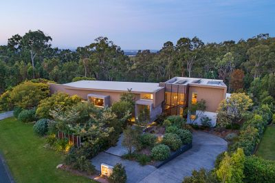 STRIKING ACREAGE RESIDENCE INTELLIGENTLY DESIGNED TO SUIT ITS SURROUNDS - JUST SOLD $2,100,000