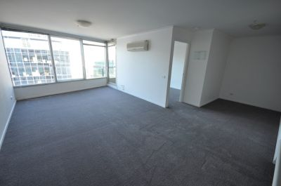 Promenade: 18th Floor - Light-Filled One Bedroom with Separate Study Area and Whitegoods Included!