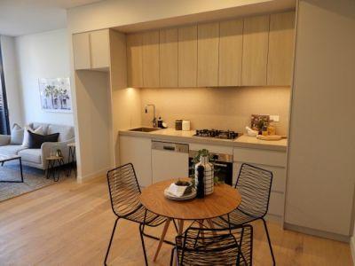 Brand new 1 bedroom + study apartment - oversized terrace