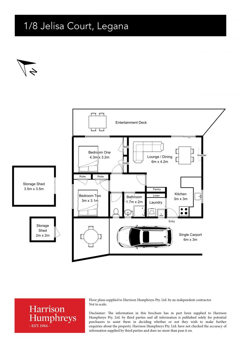 8 Jelisa Court Floorplan