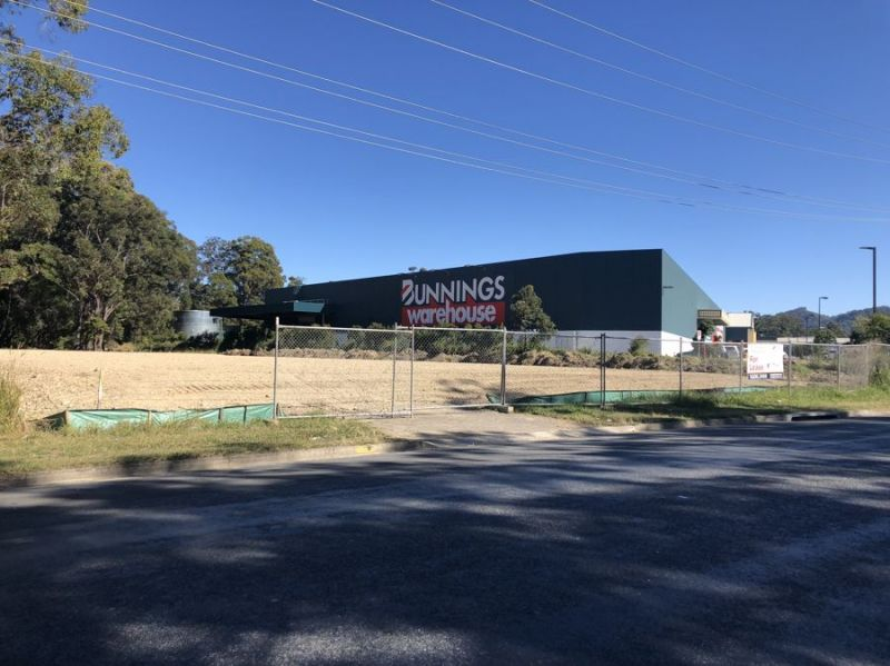New industrial complex right next to Bunnings...