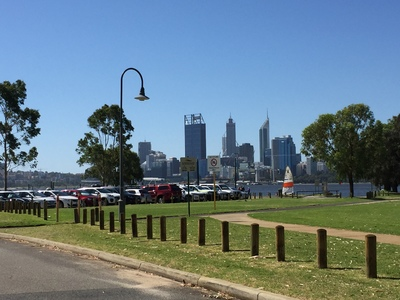 50m to river foreshore