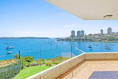 Waterfront House-Size Luxury With Spectacular Harbour Views + NW Aspect  Rarely Available North Building In Prestigious Kincoppal