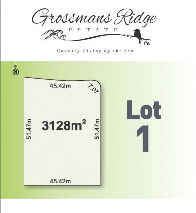 Lot 1/460 Grossmans Road, BELLBRAE
